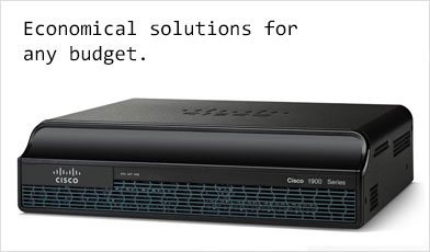 Used Cisco 1900 Series Routers