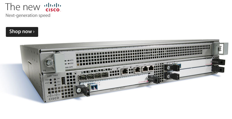 Used Cisco Routers at usedciscodealer.com